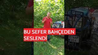 BU SEFER BAHÇEDEN SESLENDİ